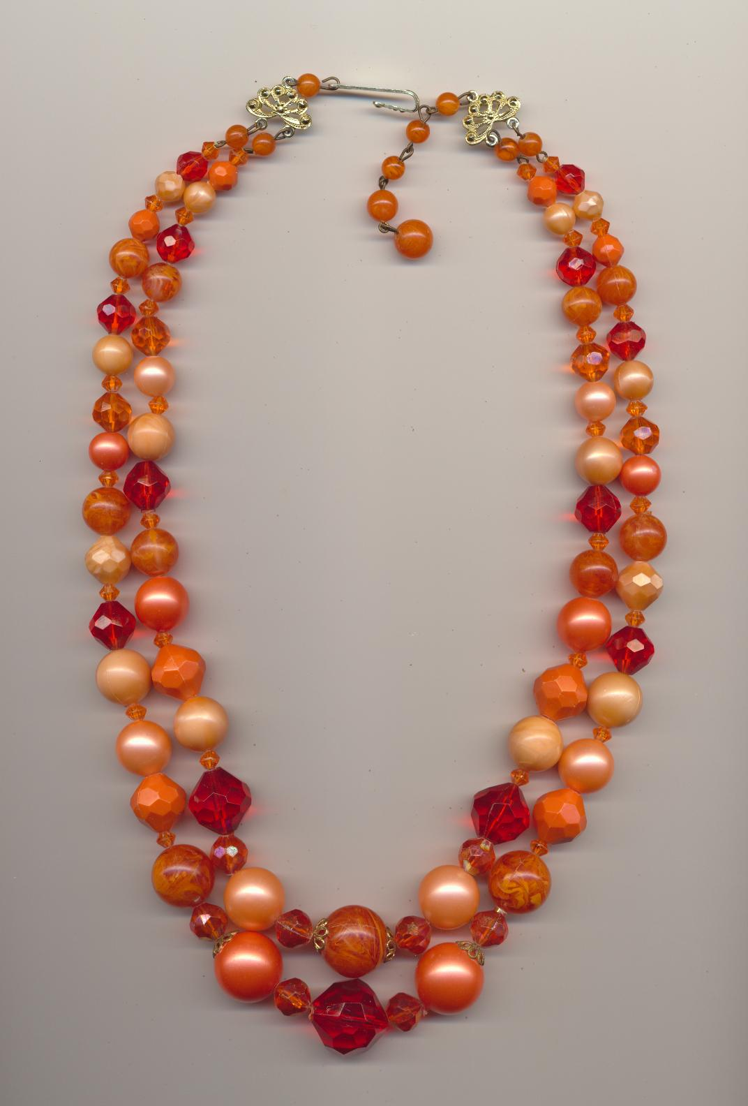 beads coral necklace italian products natural after img bead